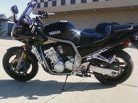 I have a 2002 FZ 1000 in mint condition. It has 10,300