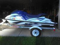 Ski is in very excellent condition for an '02. Motor is