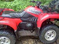 2002 yamaha grizzly 660, 4 wheel drive, brand new