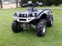 2002 Yamaha Grizzly 660 4X4. This is the newest 2002