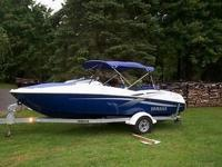 2002 Yamaha LX 2000 Jet Boat With Shorelander Trailer--