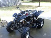 Quad looks good to be a 2002 has a cracked rear fender