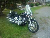 For Sale: 2002 Yamaha V-Star 1100 Custom, Black with