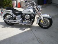 YAMAHA V-STAR , 3,600 MILES, SENIOR LADY DRIVEN, GARAGE