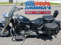 2002 Yamaha Vstar 650 Classic You instinctively know a