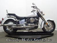 2002 Yamaha VStar 650 XVS650 with 3,193 Miles. This is