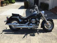 I have a beautiful 2002 Yamaha VStar 650 classic that I