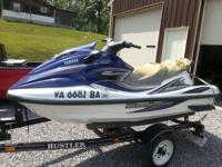 2002 yamaha wave runner 1200 for parts or repair. It