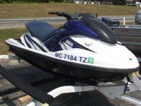 Watercraft 2 Person 3380 PSN. 2002 Yamaha WaveRunner