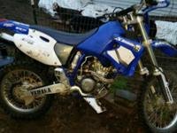 Selling a 2002 Yamaha WR 250 dirt bike can be made