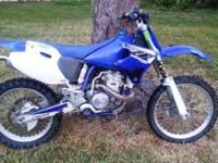 2002 Yamaha YZ426F 4 movement motorcycle with a new