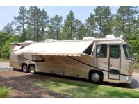 Very well maintained motor home. 2 slides, 3-TV's, the