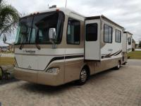 Beaver Santiam Model 38PBDD with dual slide-outs and