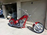 2002 Custom Kit Chopper. This is a Custom Chopper cycle