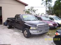 2002 dODGE dIESEL dUALLY Quad Cab, runs great and is