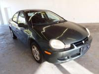 2002 Dodge Neon 4D Sedan, ** Cold a/c ** Low Miles!! **