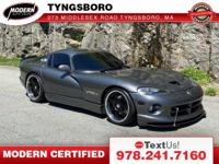 2002 viper gts coupe - The upgrades include: Fully