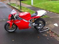 2002 Ducati 998 for sale. Runs and looks gorgeous.