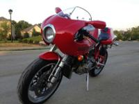 2002 Ducati MH900e. Has been ridden 7677 miles. It has