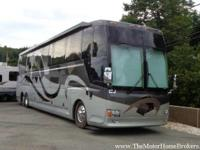 This custom coach offers the luxury and power you would