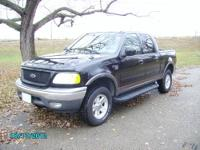 2002 Ford F150 XLT Supercrew Cab 4x4 FX4, 5.4L V8,