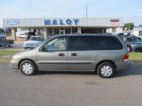 Options Included: N/A2002 FORD WINDSTAR VAN NEW TRADE