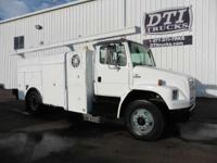 Great Running Diesel Utility Truck With Only 69K Miles!
