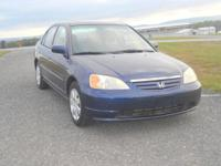DEPENDABLE GREAT RUNNING HONDA CIVIC VEHICLE EQUIPPED