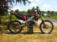 Up for sale is a 2002 Honda CR250 dirtbike. I hate to