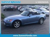 This 2002 Honda S2000  is proudly offered by Sussex