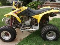 Hi , for sale is a 2002 Honda fourtrax trx 400ex with