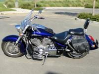 Here is a well cared for and maintained 2002 Honda 1800