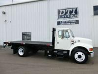 Flatbed/ Stake Bed Trucks For Sale In Colorado. Front