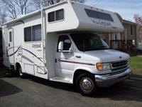this nice 02 Jayco Grayhawk mini RV with 28,000 miles,