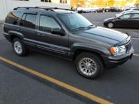 Check out this gently-used 2002 Jeep Grand Cherokee we
