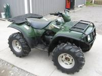 "We are selling an ""as-is"" 2002 Kawasaki 650 Prairie"