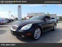 Check out this gently-used 2002 Lexus SC 430 we