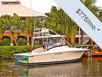 You can have this vessel for just $776 per month. Fill