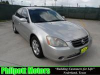 Options Included: N/A2002 Nissan Altima, silver with