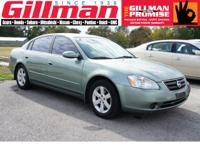 Options Included: N/AThe 2002 Nissan Altima is sold