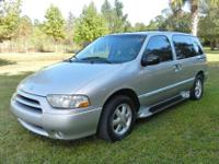 2002 Nissan Quest Mini Van with only 99,200 miles. Runs