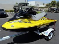 2002 Sea-Doo Bombardier RXDi + 1997 Trailrite EZ Loader