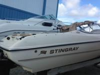 2002 Stingray 18 ft; LS Model; Inboard/Outboard