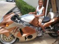 Classy Custom Copper Hayabusa built for speed and