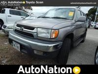This 2002 Toyota 4Runner SR5 is happily provided by