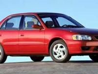Check out this gently-used 2002 Toyota Corolla we