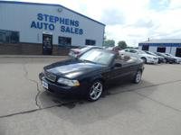 NEW IN STOCK IS A SUPER CLEAN 2002 VOLVO C70
