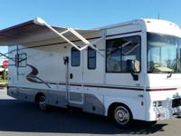 This Winnebago is 27-foot in length and has 37,500