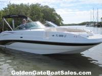 2003, 24' CHAPARRAL 243 SUNESTA with 2016 ROCKET Dual