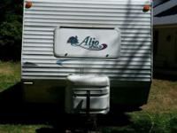 "2003 25'9"" ALJO Camp Trailer with tip/slide out, bumper"